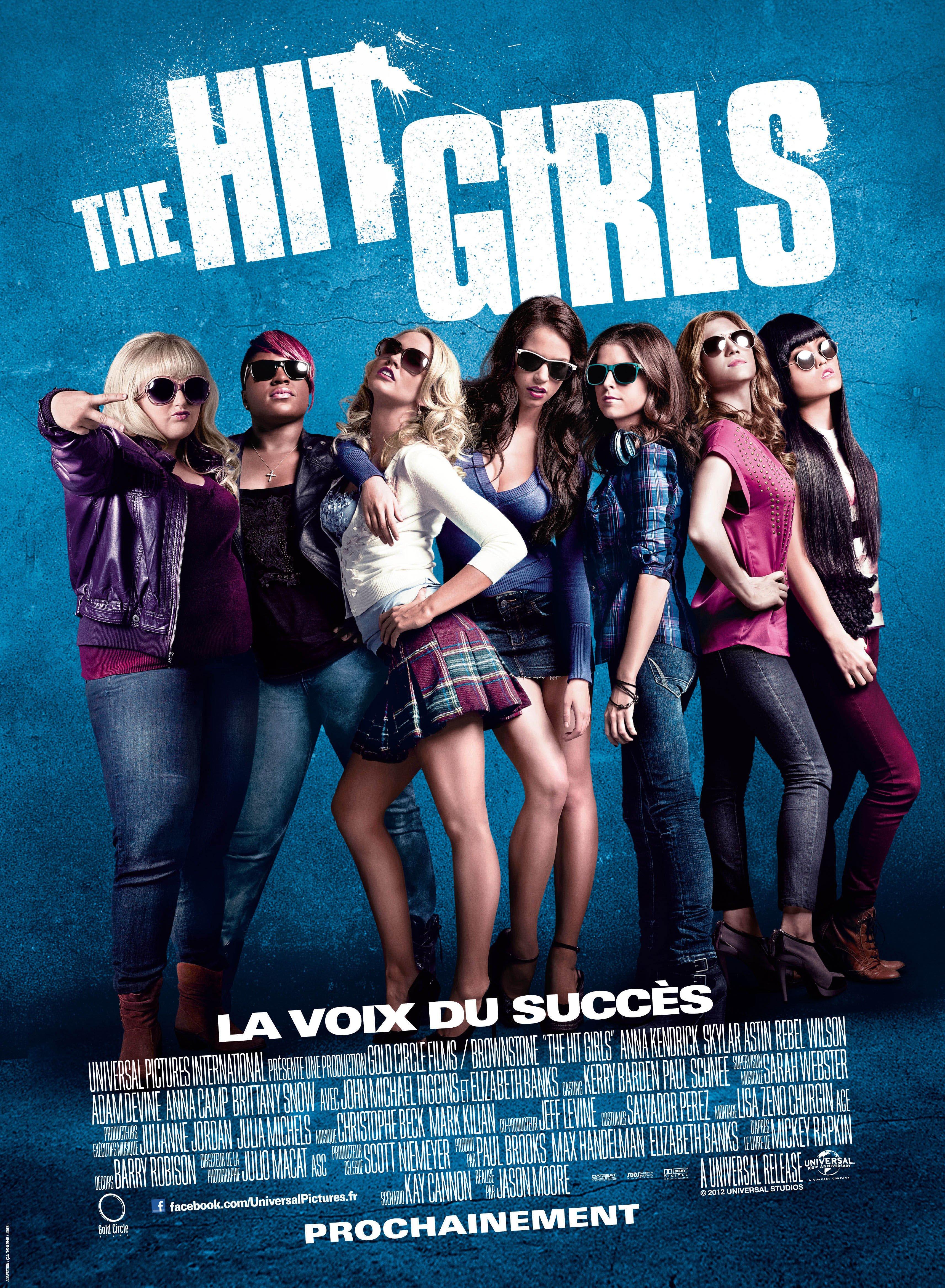 affiche du film The Hit Girls