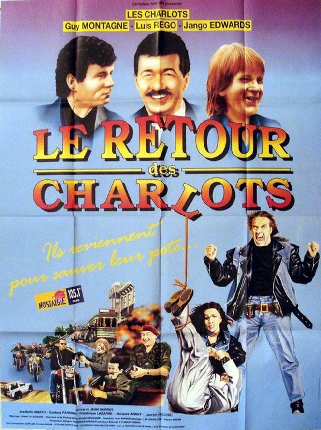affiche du film Le retour des Charlots