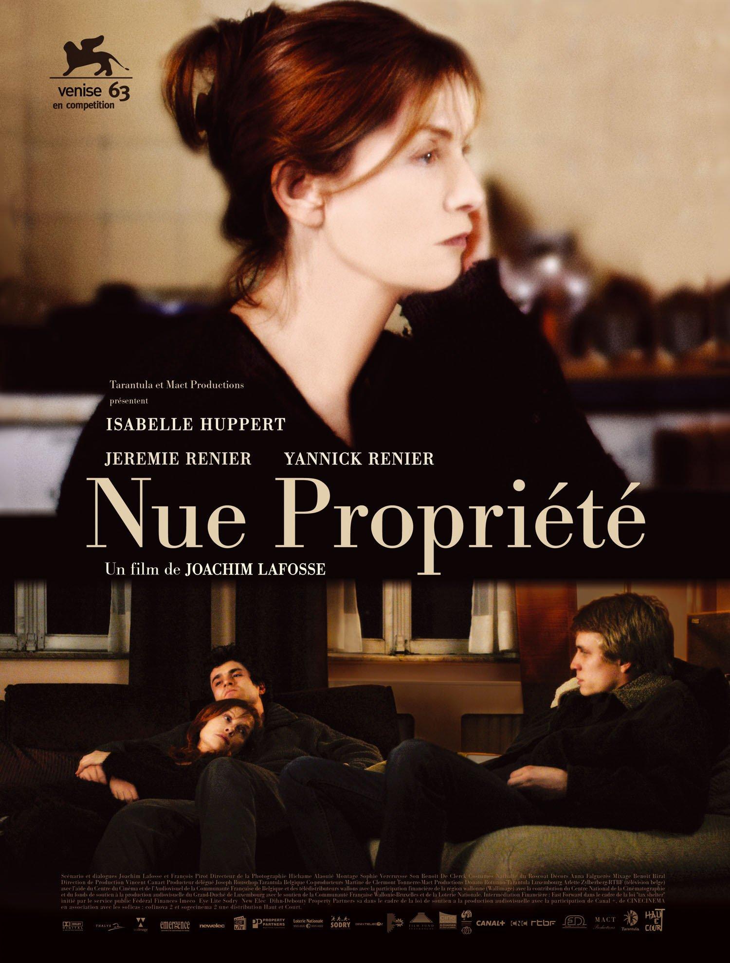 affiche du film Nue propriété
