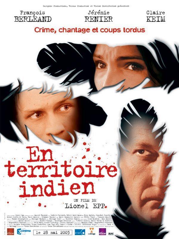 affiche du film En territoire indien