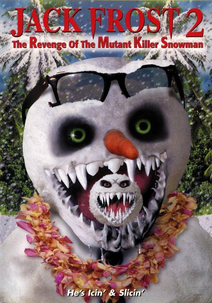 affiche du film Jack Frost 2: Revenge of the Mutant Killer Snowman