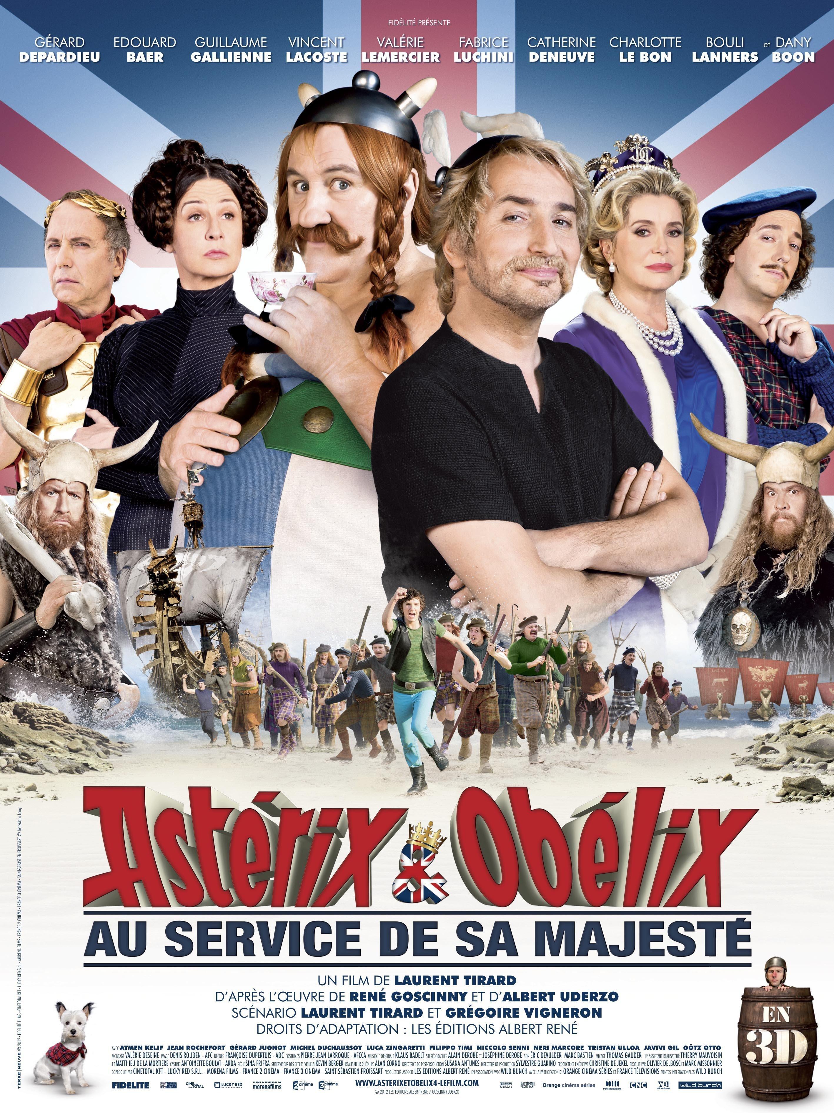 affiche du film Astérix & Obélix : Au service de sa Majesté