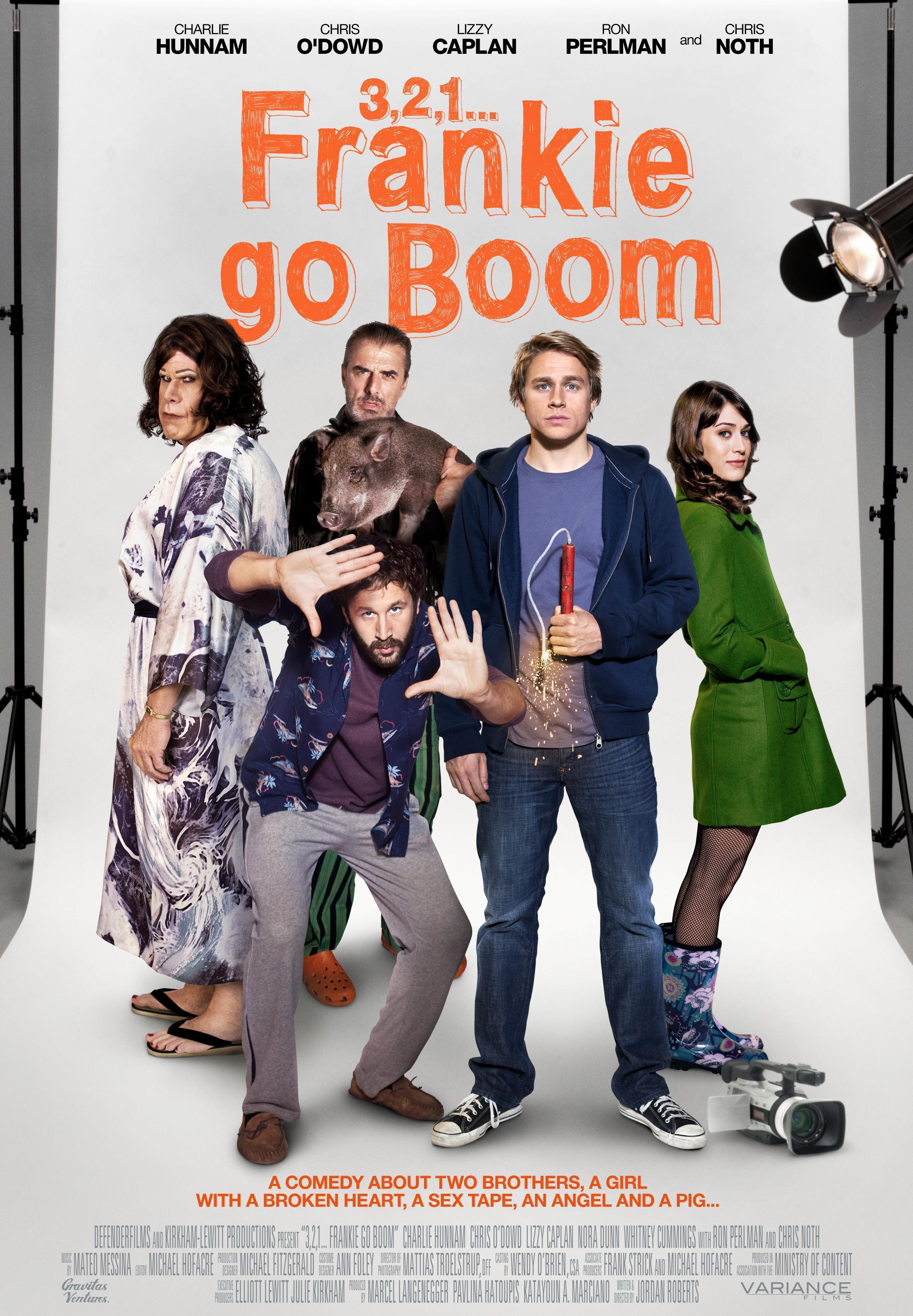 affiche du film Frankie Go Boom