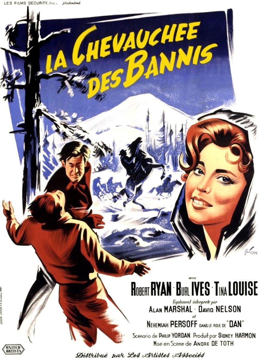 affiche du film La chevauchée des bannis