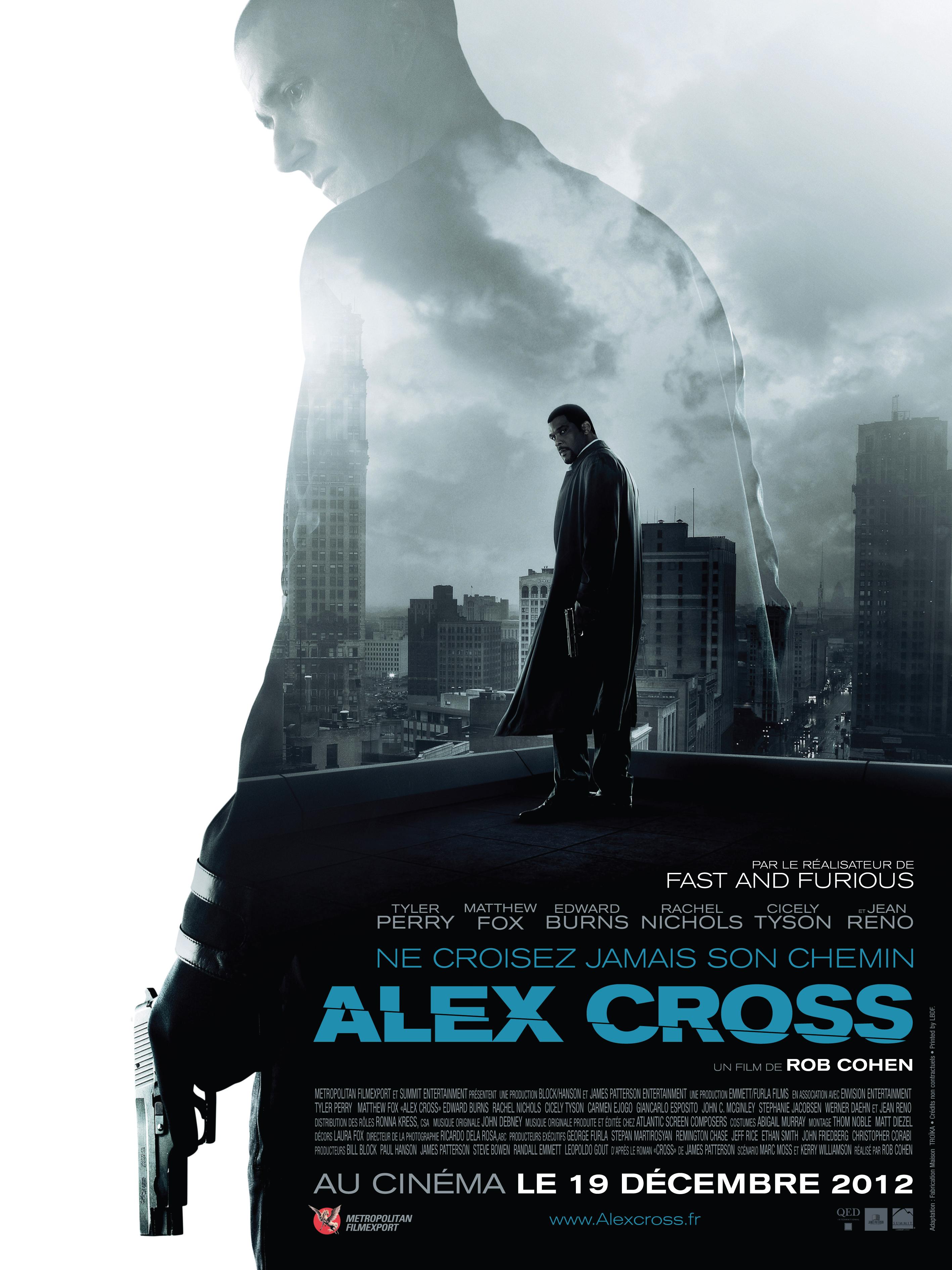 affiche du film Alex Cross