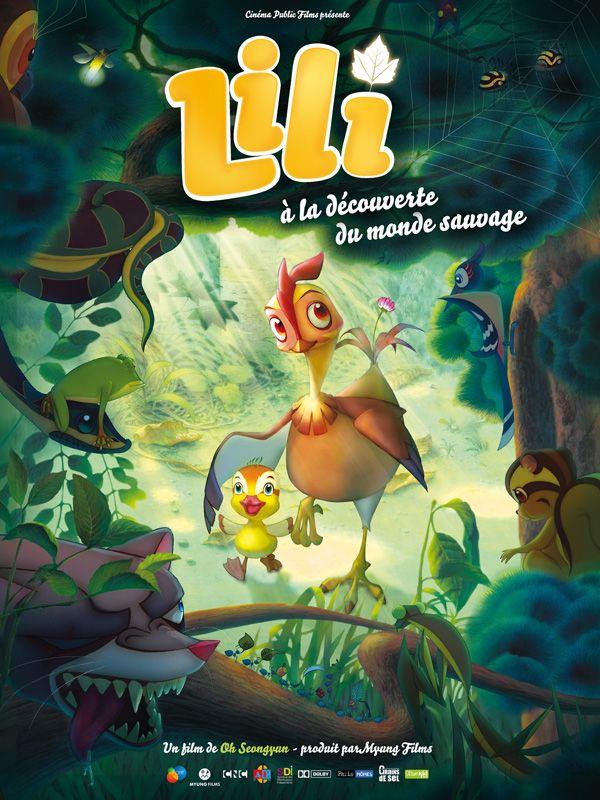 affiche du film Lili à la découverte du monde sauvage