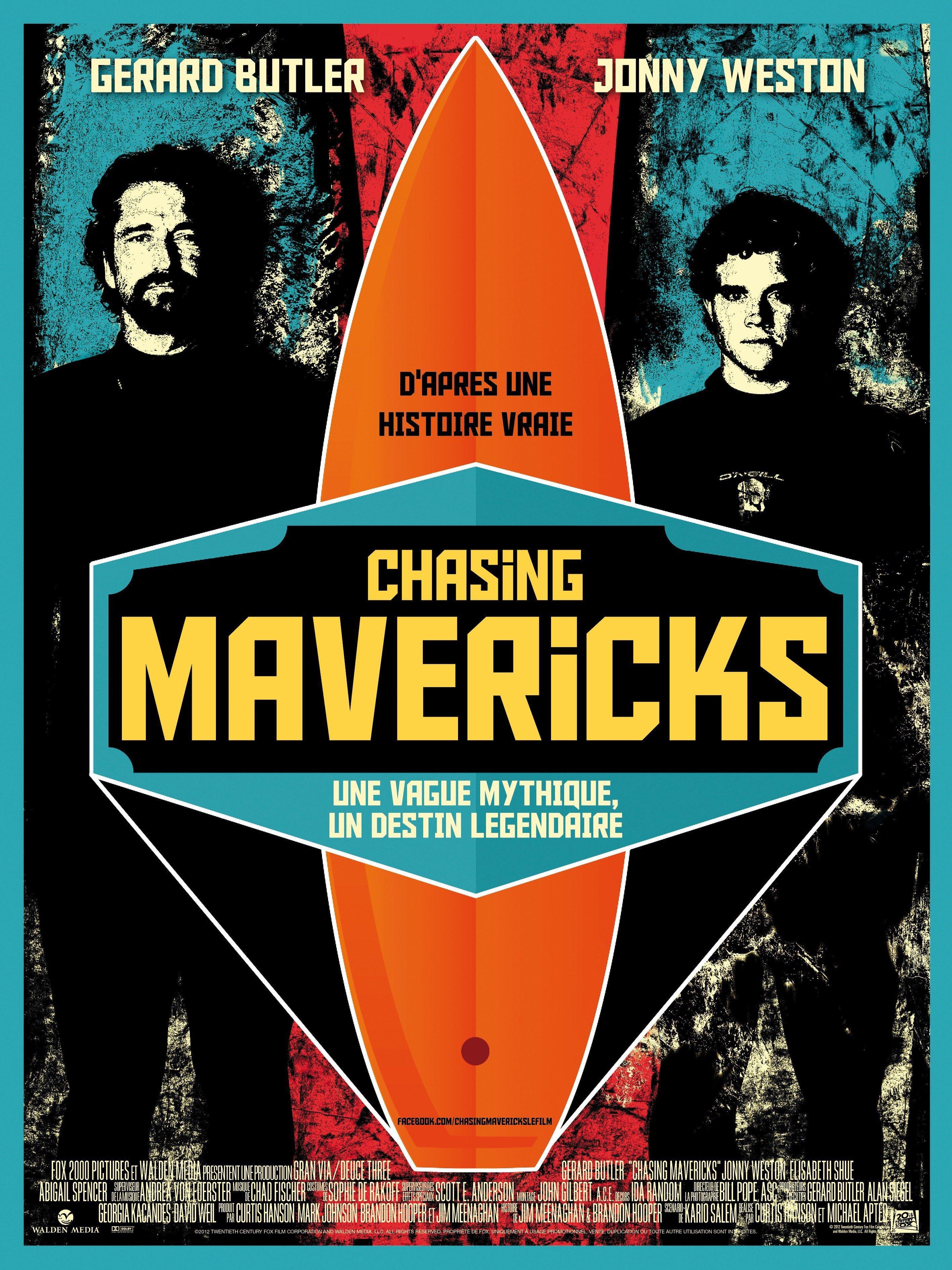 affiche du film Chasing Mavericks