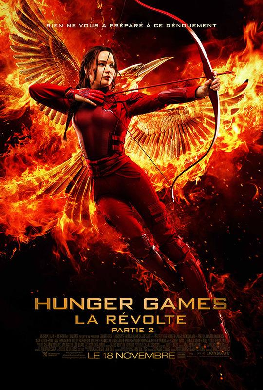 affiche du film Hunger Games : La révolte (2ème partie)