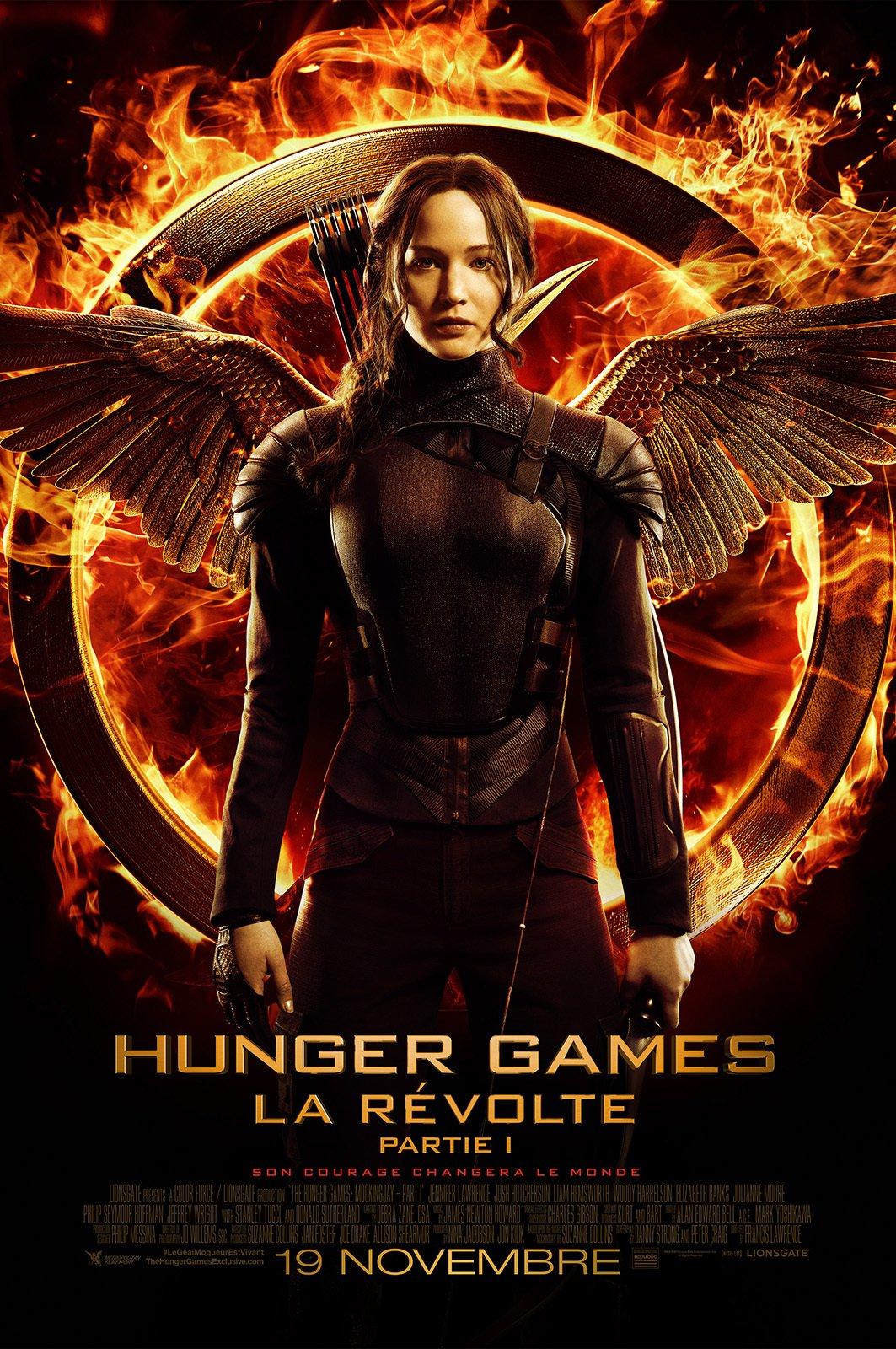 affiche du film Hunger Games : La révolte (1ère partie)
