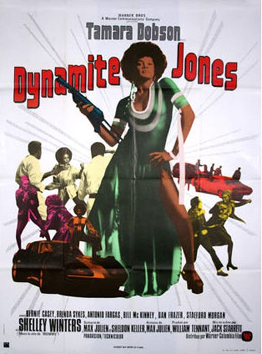 affiche du film Dynamite Jones