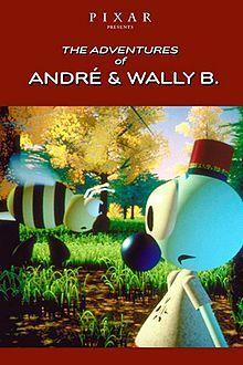 affiche du film Les Aventures d'André et Wally B.