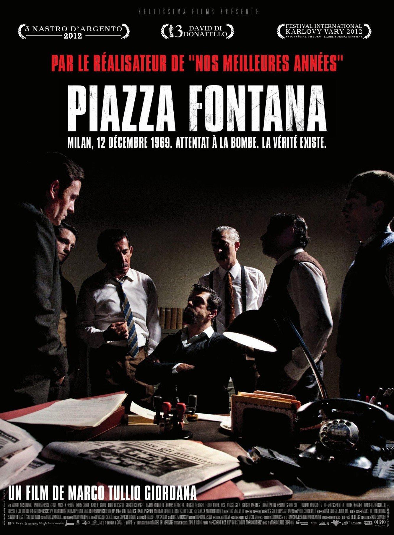 affiche du film Piazza Fontana