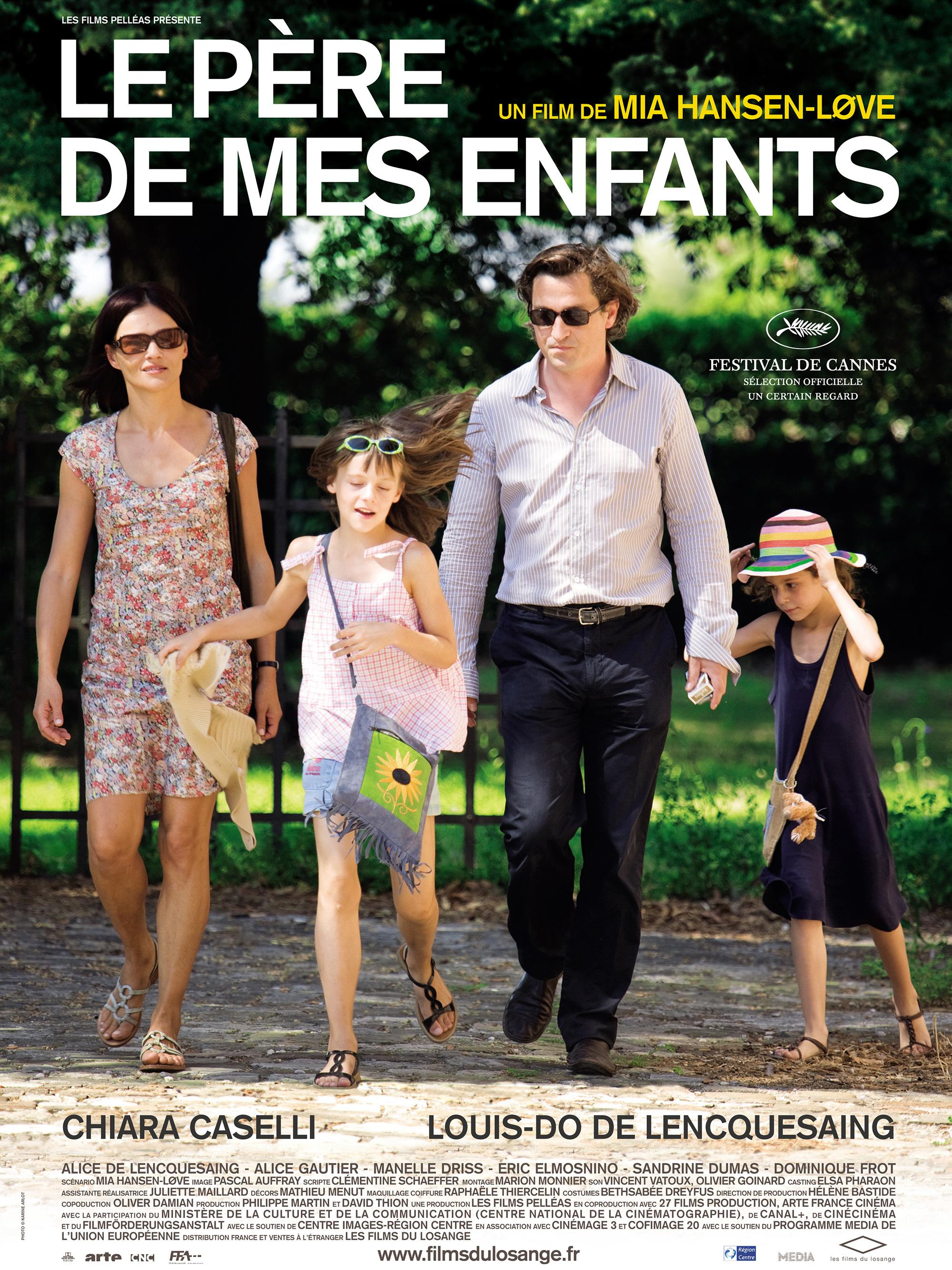 affiche du film Le père de mes enfants