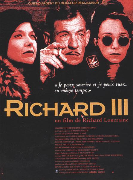 affiche du film Richard III (1995)
