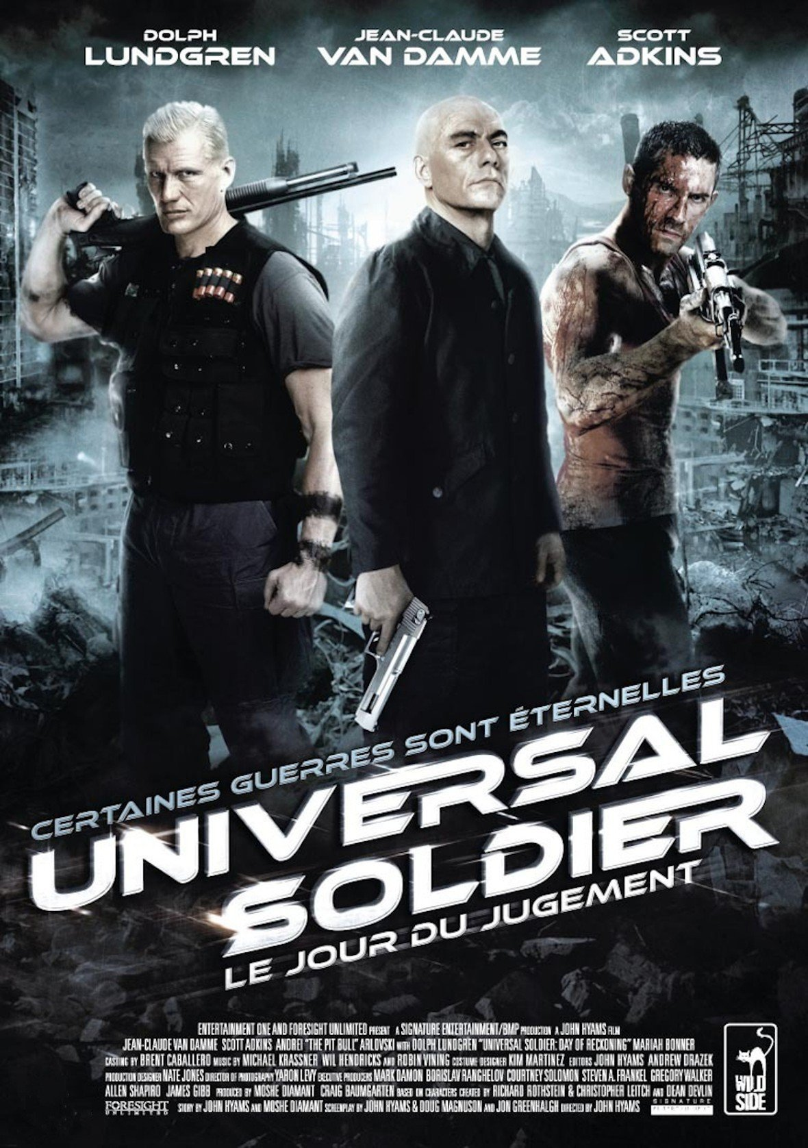 affiche du film Universal Soldier : Le Jour du jugement