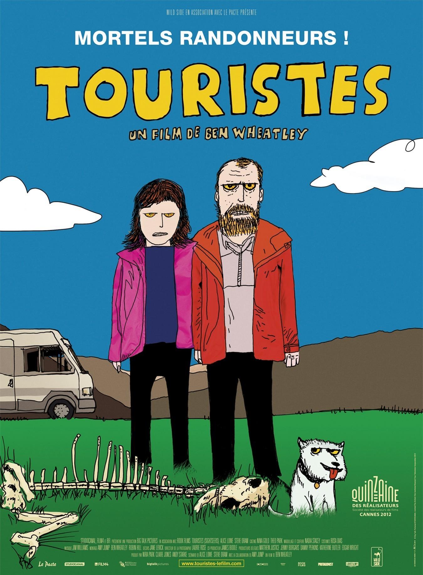 affiche du film Touristes
