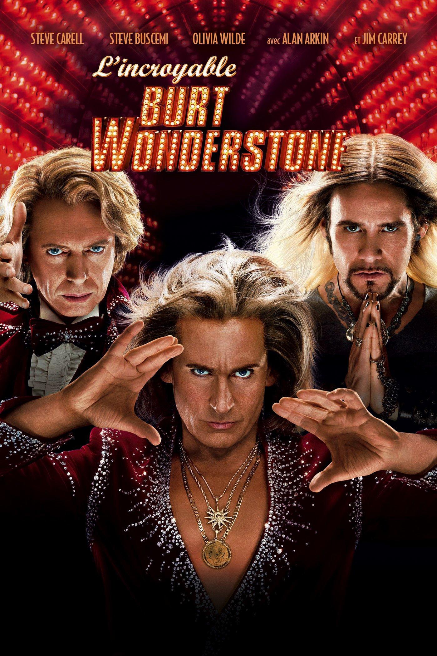 affiche du film L'incroyable Burt Wonderstone