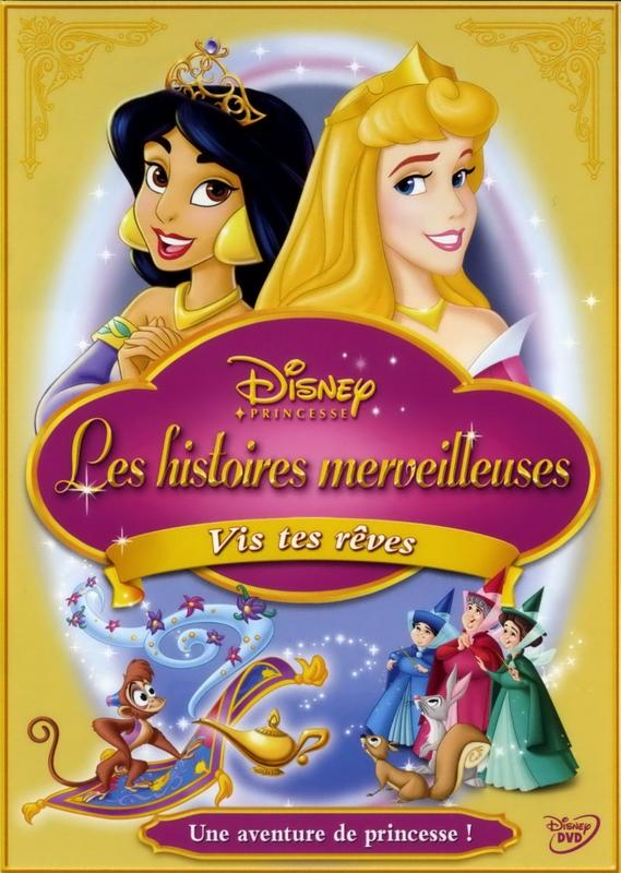 Disney Princesse - Les Histoires Merveilleuses : Vis tes Rêves Affich_23689_1