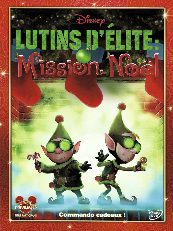 affiche du film Lutins d'élite, mission Noël (TV)