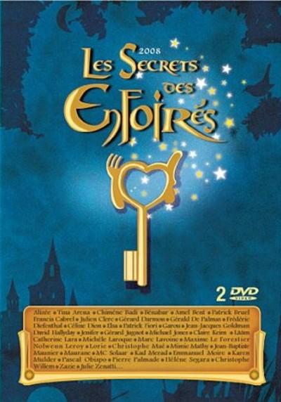 affiche du film Les Enfoirés 2008 ... Les Secrets des Enfoirés