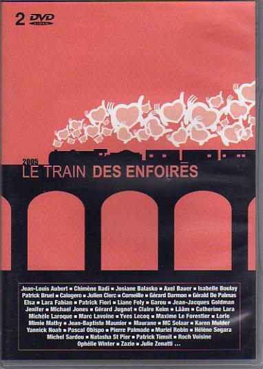 affiche du film Les Enfoirés 2005 ... Le Train des Enfoirés