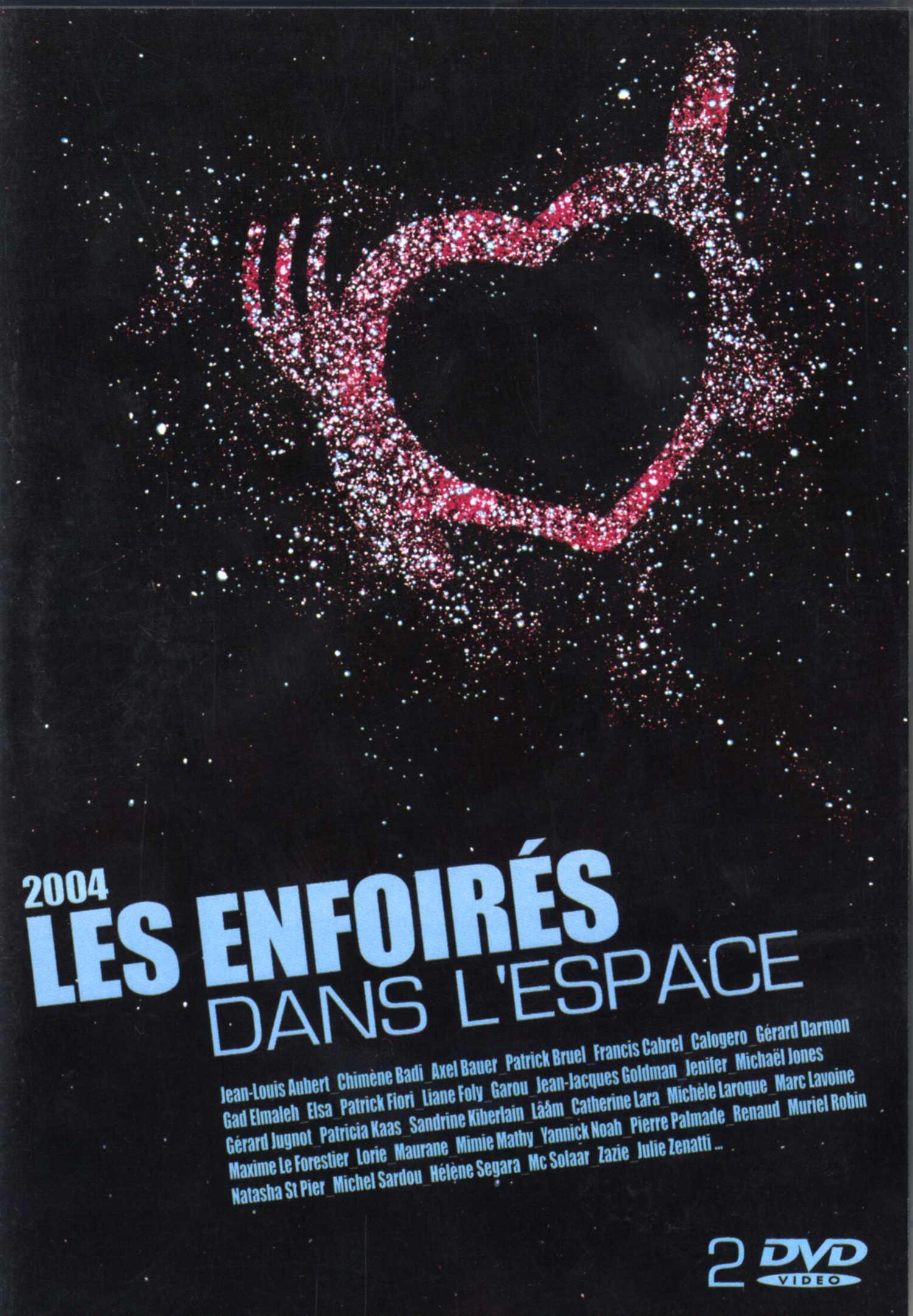 affiche du film Les Enfoirés 2004 ... Les Enfoirés dans l'espace
