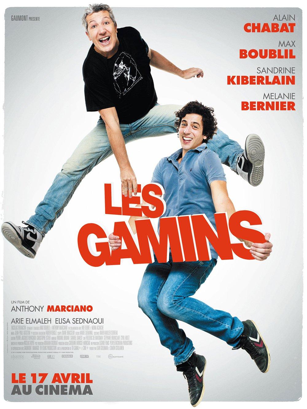 affiche du film Les Gamins
