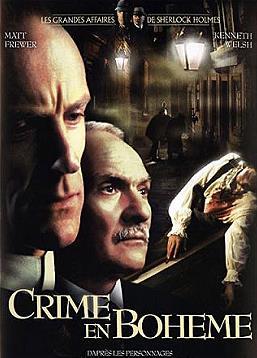 affiche du film Crime en bohême (TV)