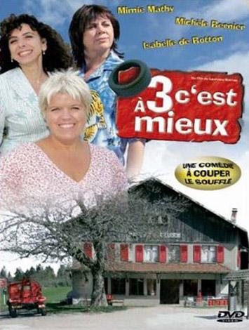 affiche du film À trois c'est mieux (TV)