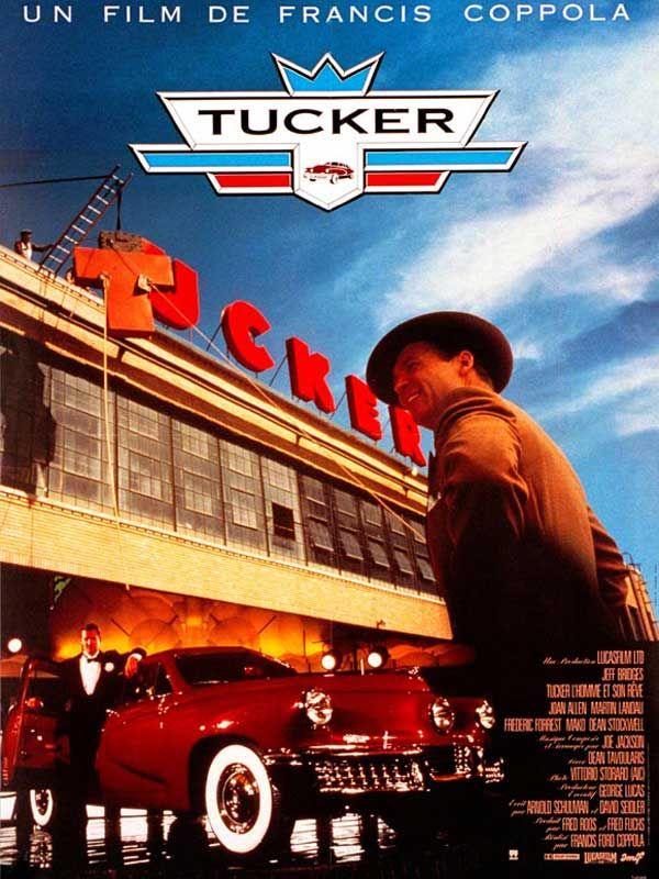 affiche du film Tucker : L'homme et son rêve