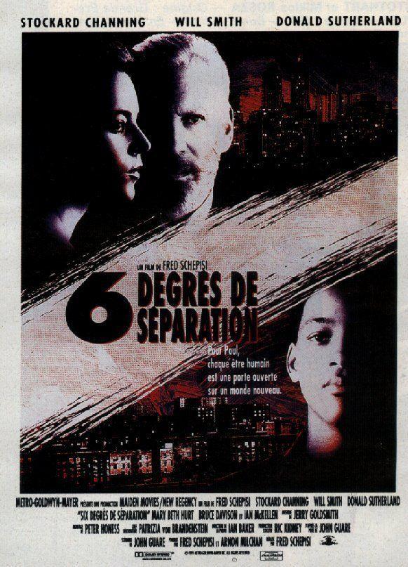 affiche du film Six degrés de séparation