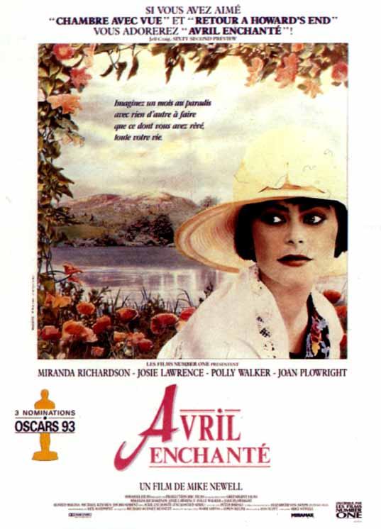 affiche du film Avril enchanté