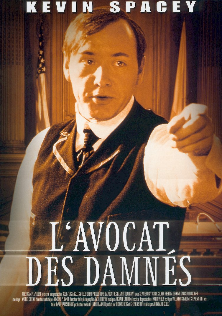 affiche du film L'avocat des damnés (TV)