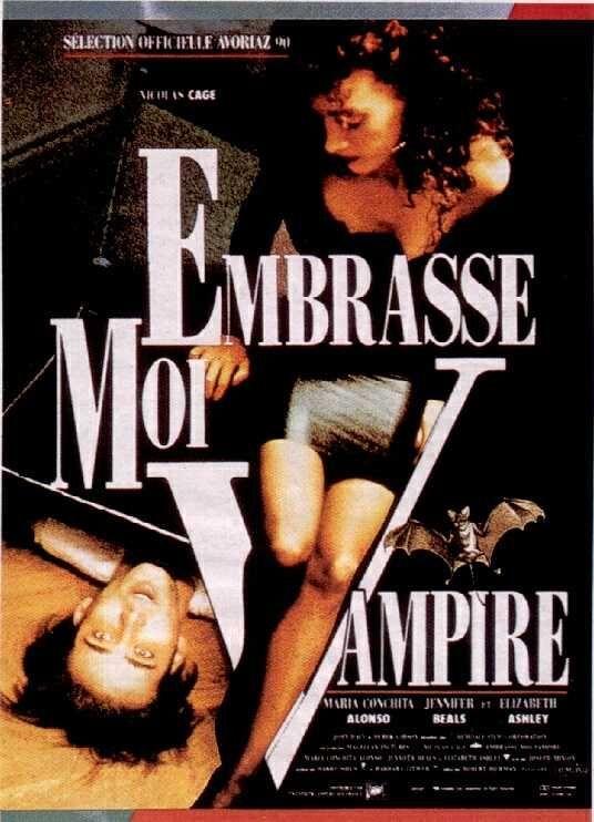 affiche du film Embrasse-moi, vampire