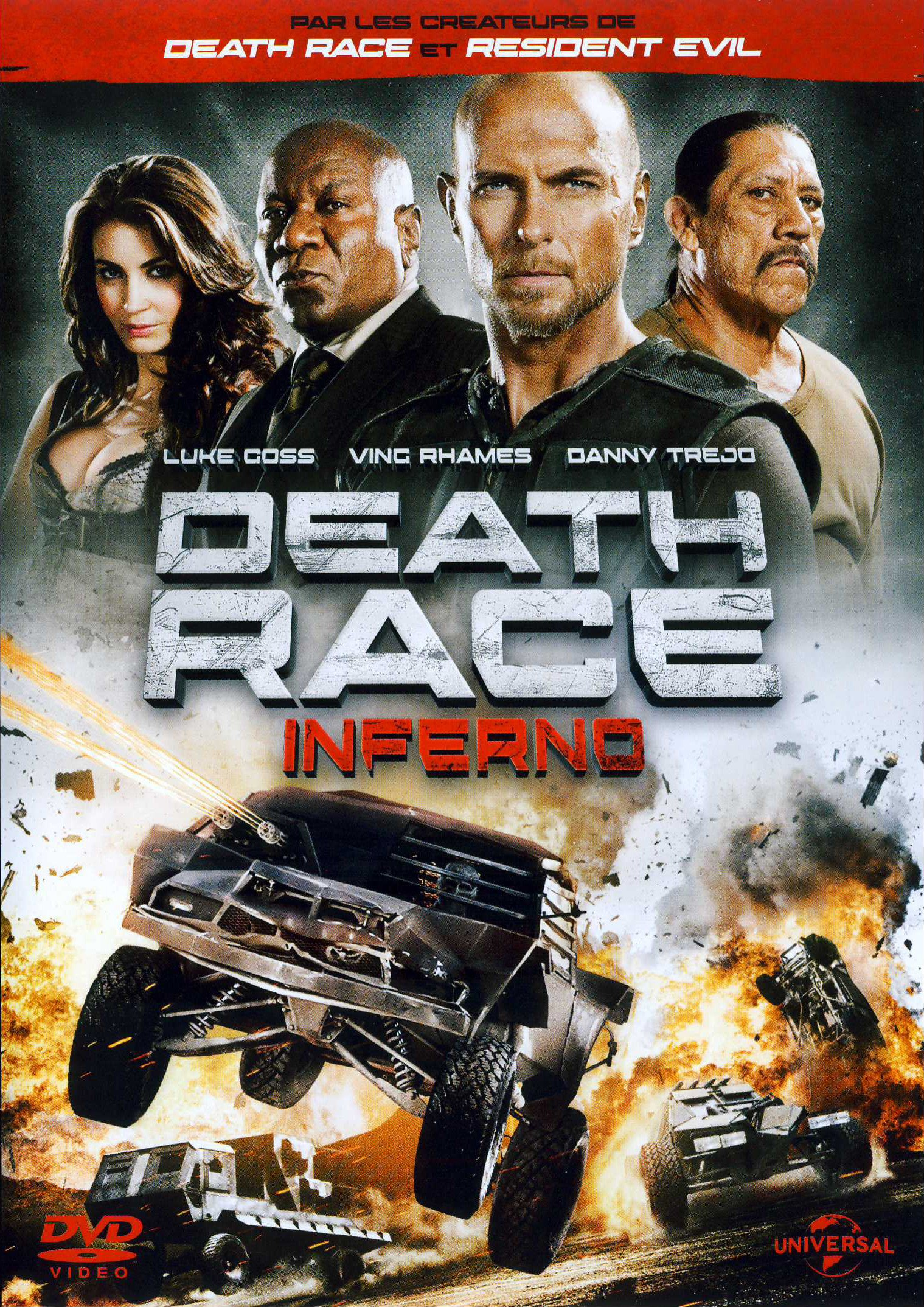 affiche du film Death Race 3: Inferno