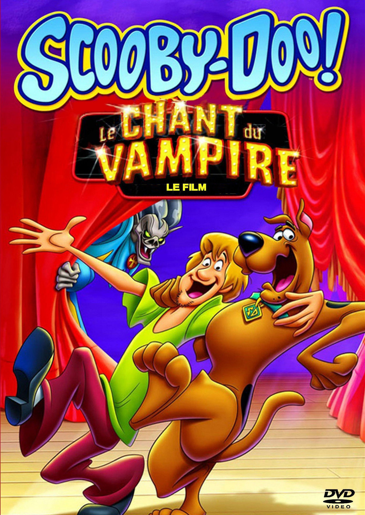 affiche du film Scooby-Doo: Le chant du vampire