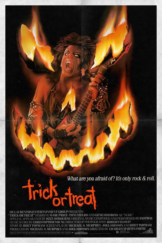 affiche du film Trick or Treat