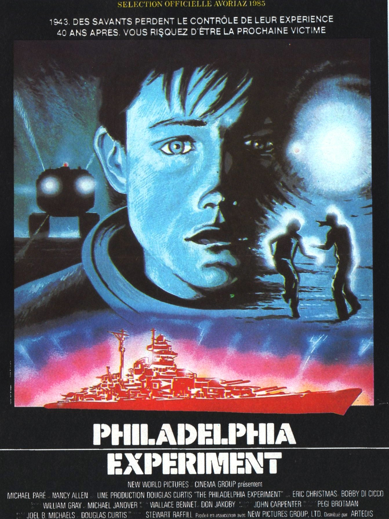 affiche du film Philadelphia Experiment