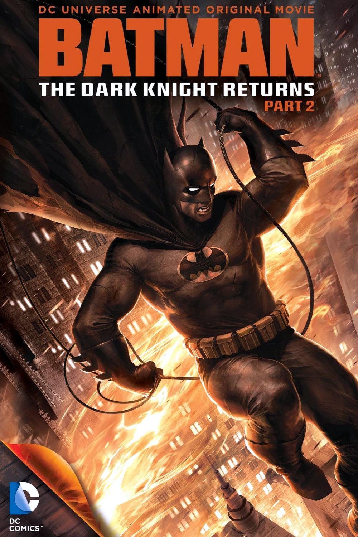 affiche du film Batman: The Dark Knight Returns - Part 2