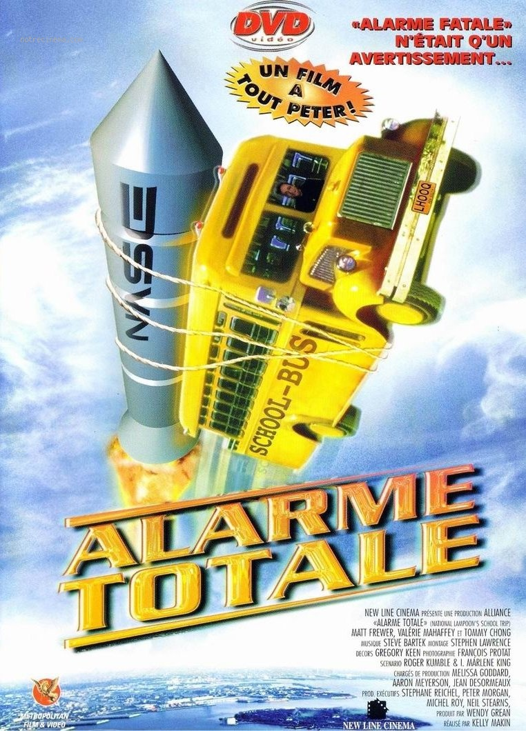 affiche du film Alarme totale