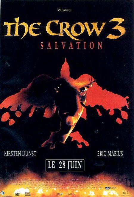 affiche du film The Crow 3: Salvation