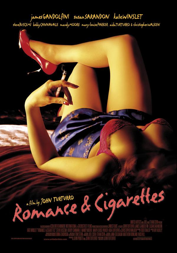affiche du film Romance & Cigarettes