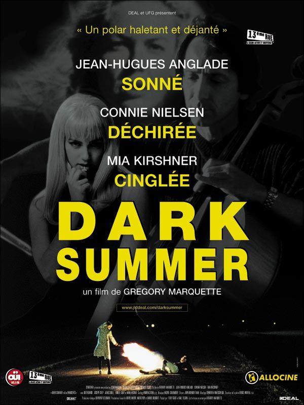 affiche du film Dark Summer