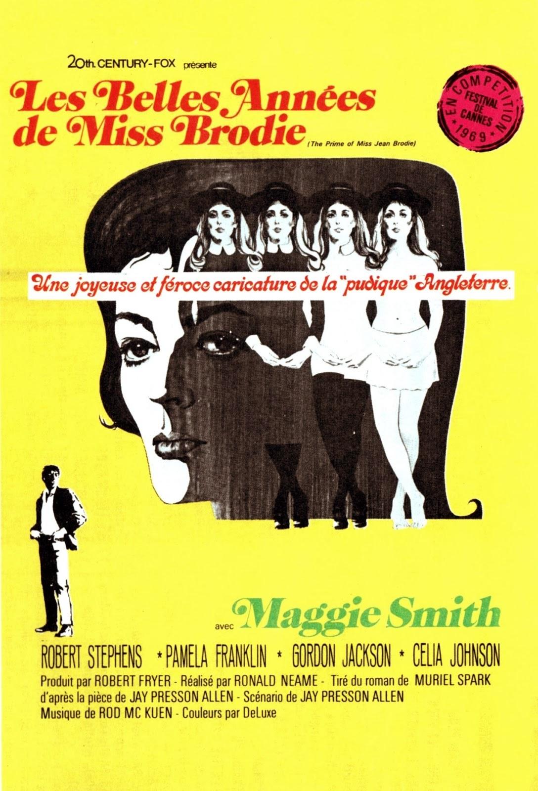 affiche du film Les belles années de Miss Brodie