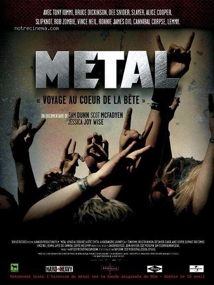 affiche du film Metal: voyage au cœur de la bête