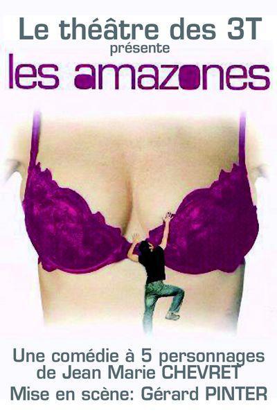 affiche du film Les Amazones