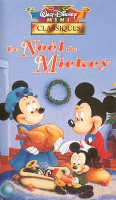 affiche du film Le Noël de Mickey