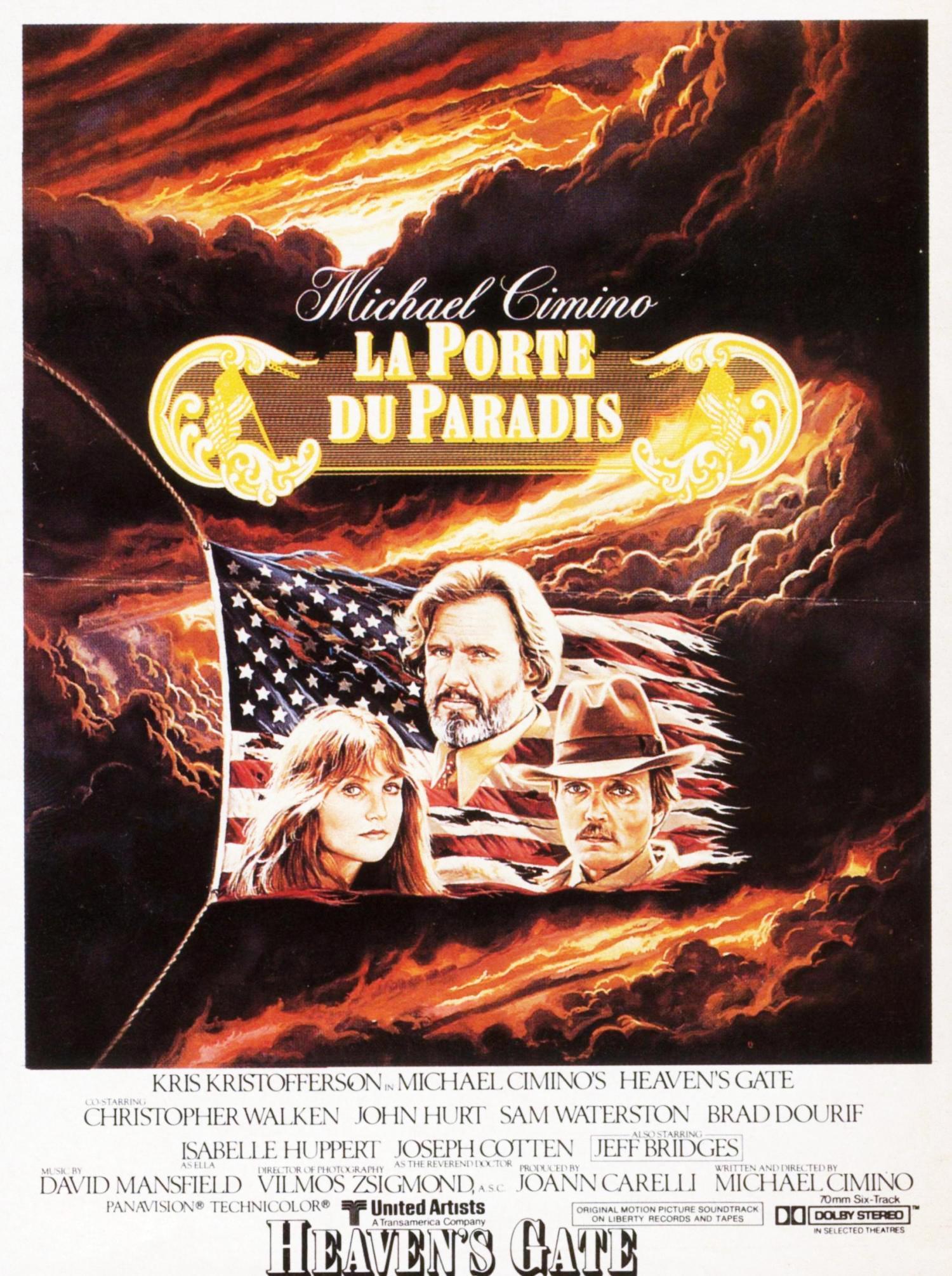 affiche du film La Porte du paradis