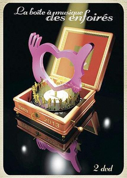 affiche du film Les Enfoirés 2013 ... La Boîte à musique des Enfoirés