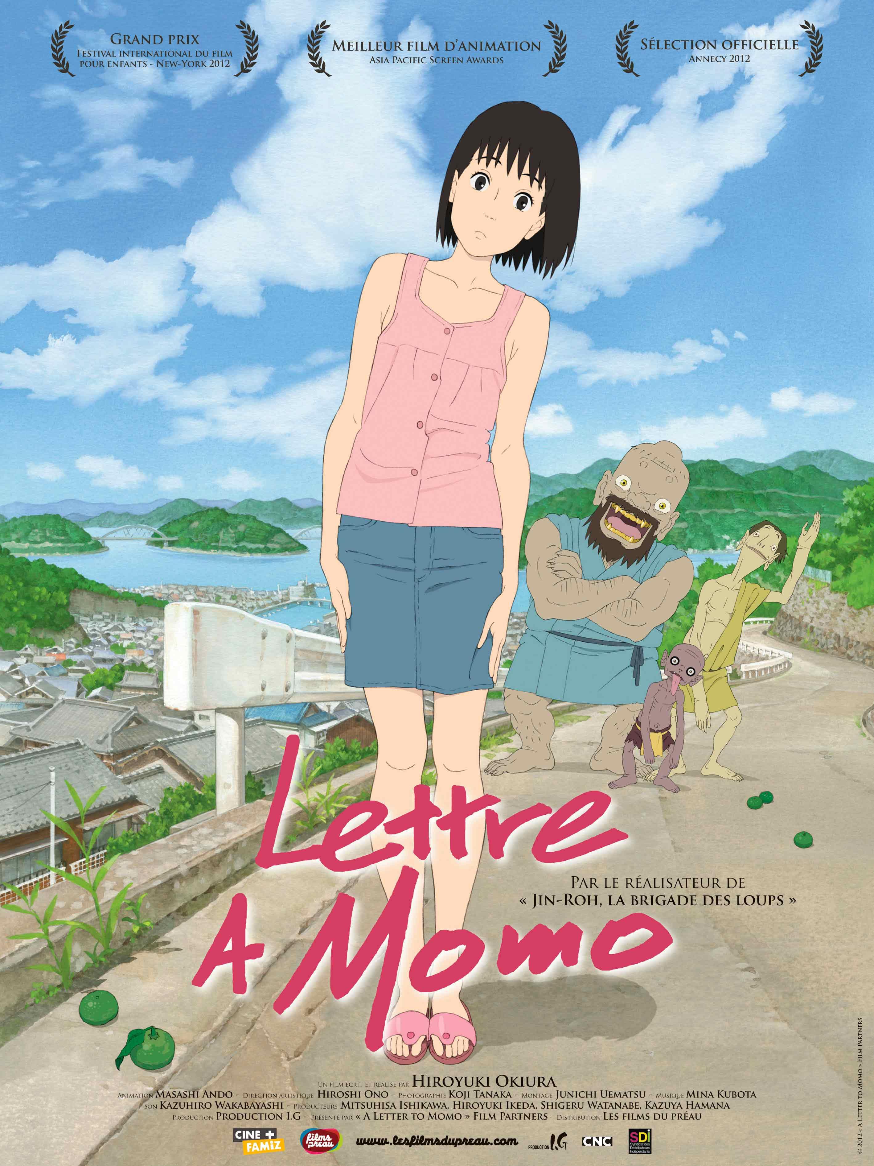 affiche du film Lettre à Momo